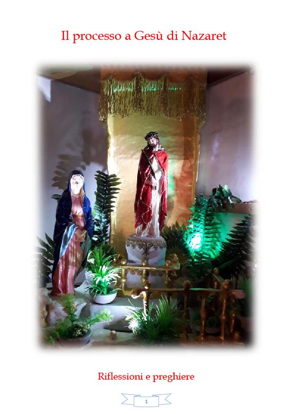 """Recensione di Giovanni Teresi al testo """"Il processo a Gesù"""" di padre Avvinti"""
